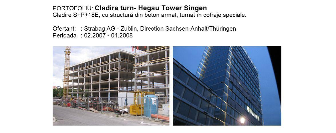Cladire turn - Hegau Tower Singen